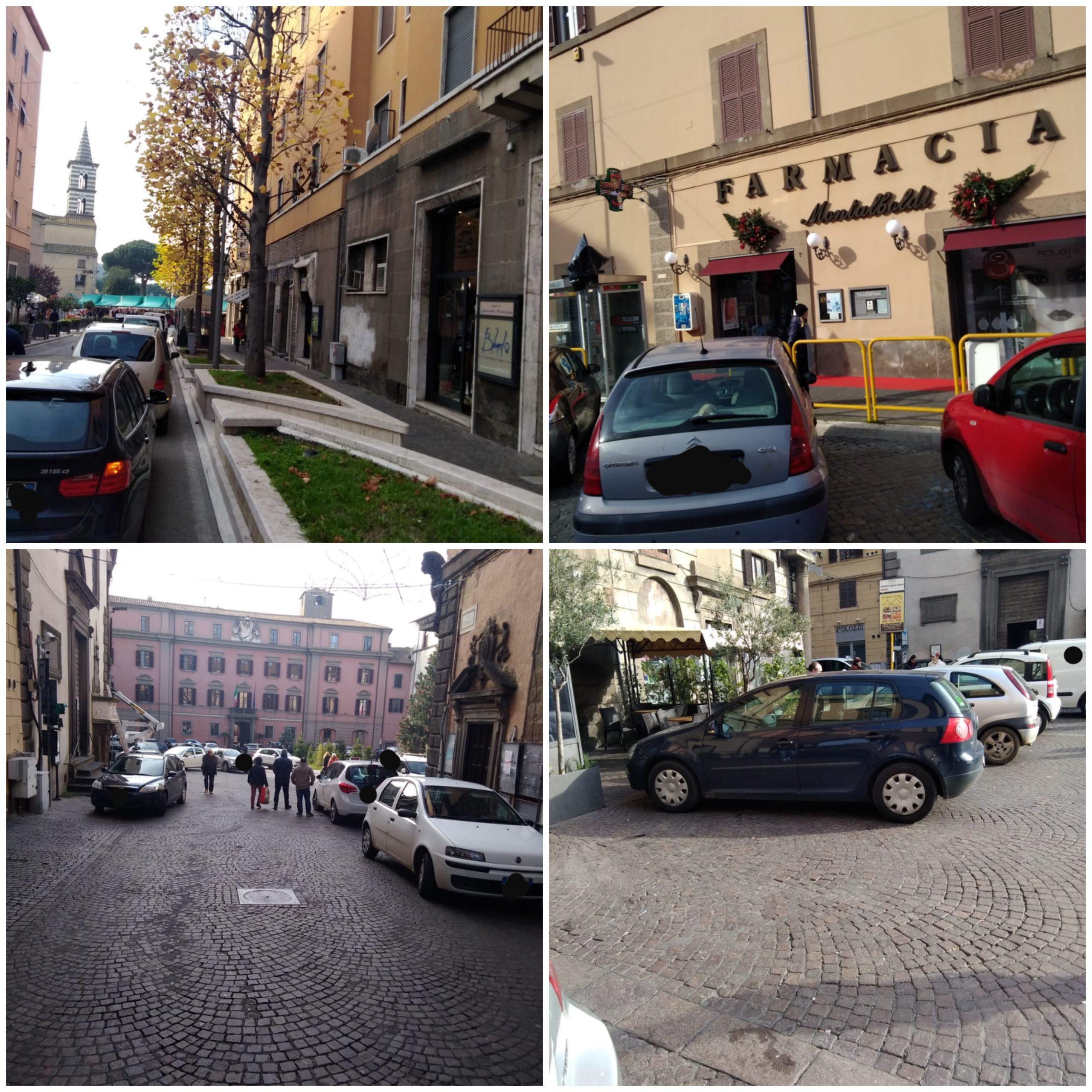 """Viterbo, Piazza del Comune """"Babele""""del parcheggio selvaggio, manca ogni senso etico  e il rispetto delle regole"""