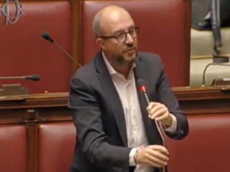"""Viterbo, Italia,  Rotelli (Fdi): """"Sconcertante la mancanza di un progetto per salvare Alitalia"""""""