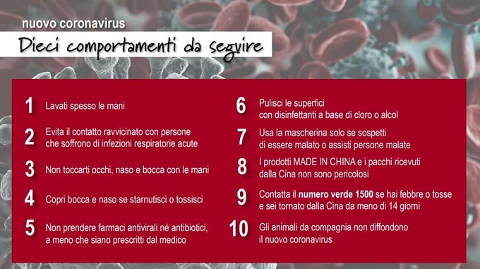 Coronavirus: quali sono i sintomi, raramente porta alla morte