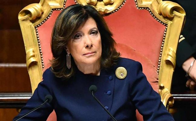 """Coronavirus, """"al Senato commessi senza mascherine"""", la decisione della Casellati secondo i boatos del gruppo Fb """"Giornalismo Investigativo"""""""