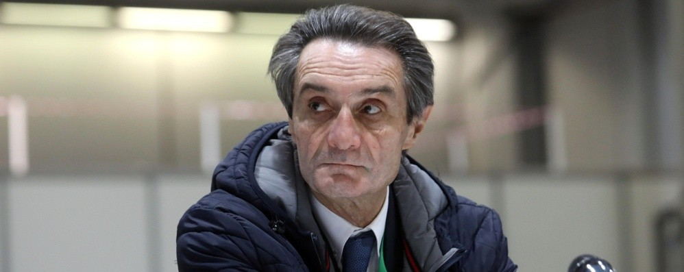 """Coronavirus, Lombardia, Fontana: """"2500 nuovi contagi, non va bene"""""""