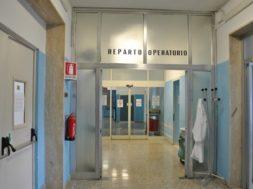 Ingresso blocco operatorio SS. Annunziata Sassari