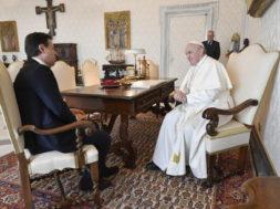 Italian Premier Conte meets Pope Francis