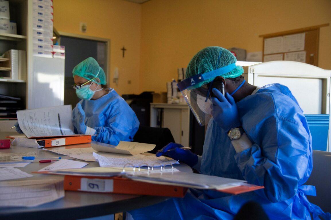 Viterbo, Coronavirus, risalgono i casi positivi in Tuscia , oggi 12, 7 relativi ad ospiti della casa di riposo Villa Noemi di Celleno