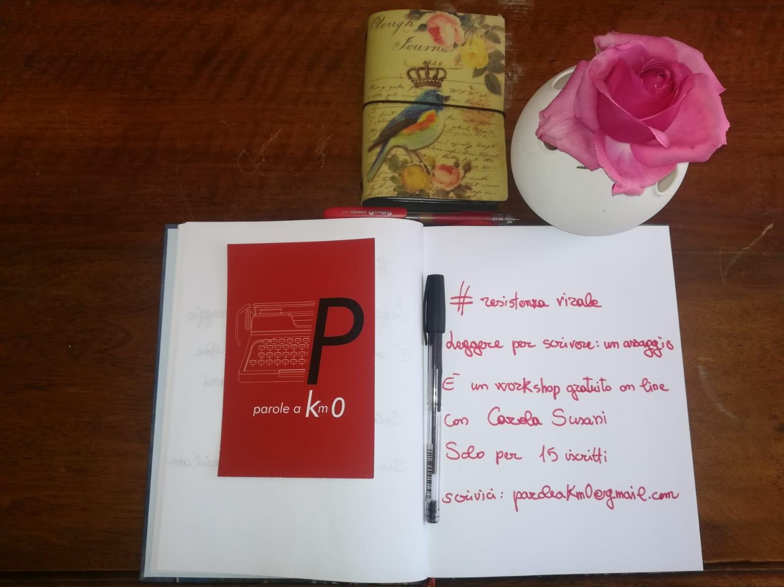 Viterbo, Coronavirus, Arci, Leggere per scrivere, workshop  on line con Carola Susani