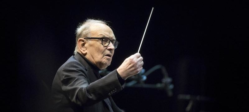 Ennio Morricone performs in Budapest
