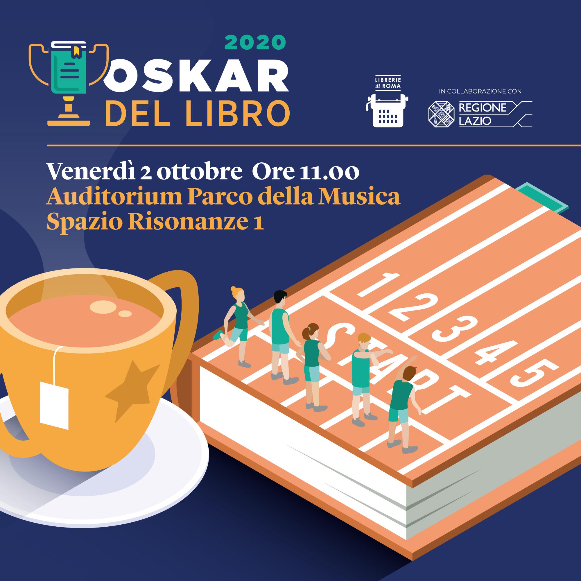 Eventi, premiazione Oskar del Libro, venerdì 2 ottobre all'Auditorium Parco della Musica