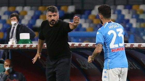 Calcio, Napoli, negativi i tamponi dei calciatori