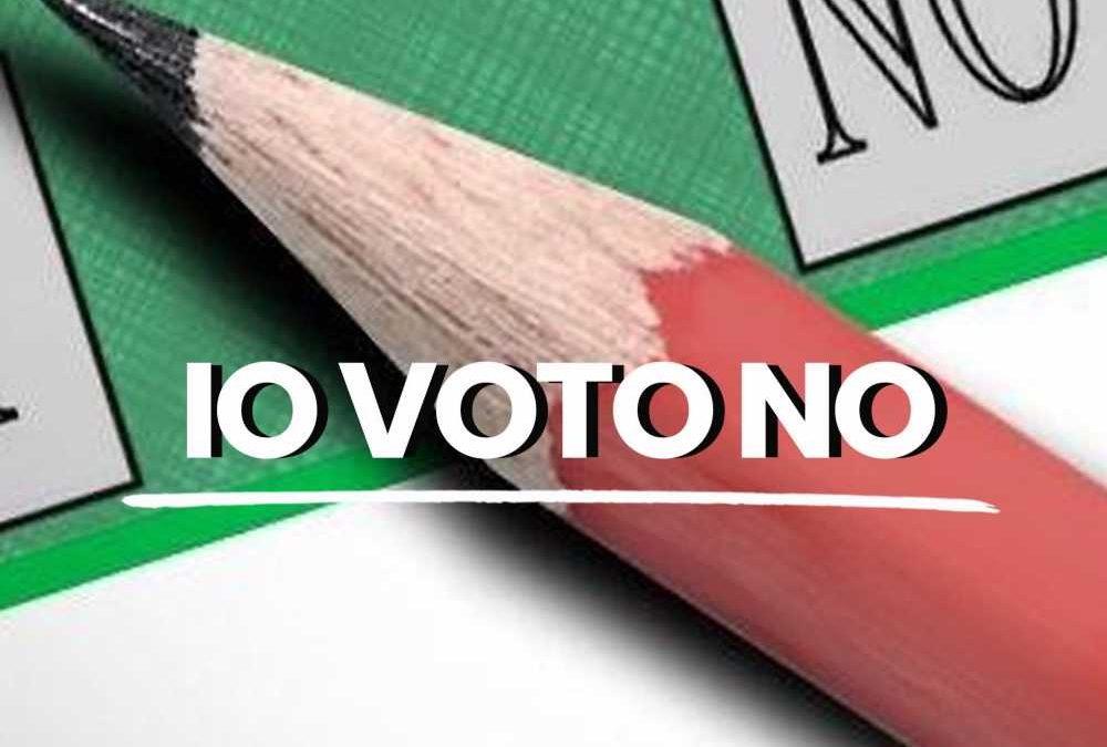 Viterbo, Referendum, Comitato per il NO, manifestazione conclusiva giovedì a Piazza delle Erbe