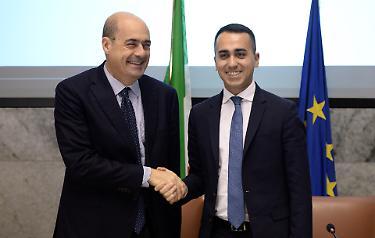 """Referendum, regionali, la nota: la vittoria dei 5 Stelle, la """"non sconfitta"""" di Zingaretti, lezione di populismo al Pd"""