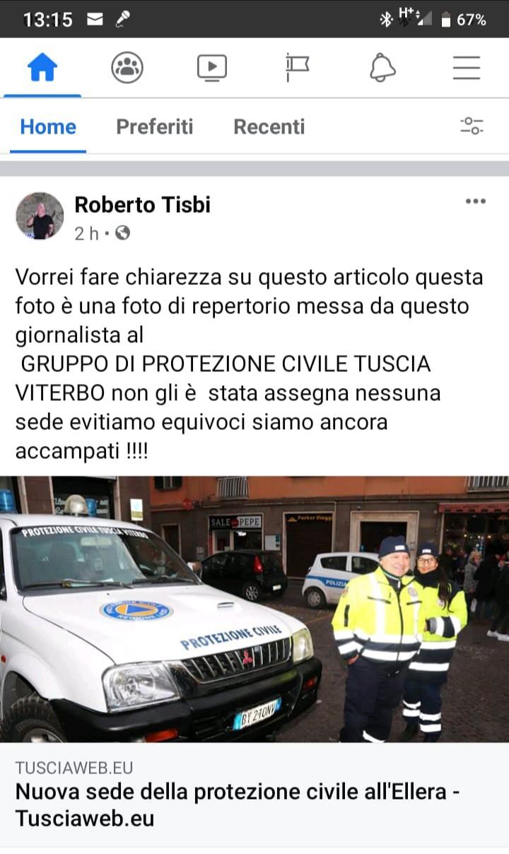 """Viterbo, Comune, Scardozzi (Fdi) annuncia la nuova sede di una protezione civile che non c'è, i misteri del """"gruppo di potere fratellitaliano"""""""