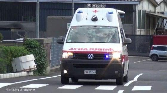 Roma, incidente in via Prenestina: bambina di sei mesi in codice rosso