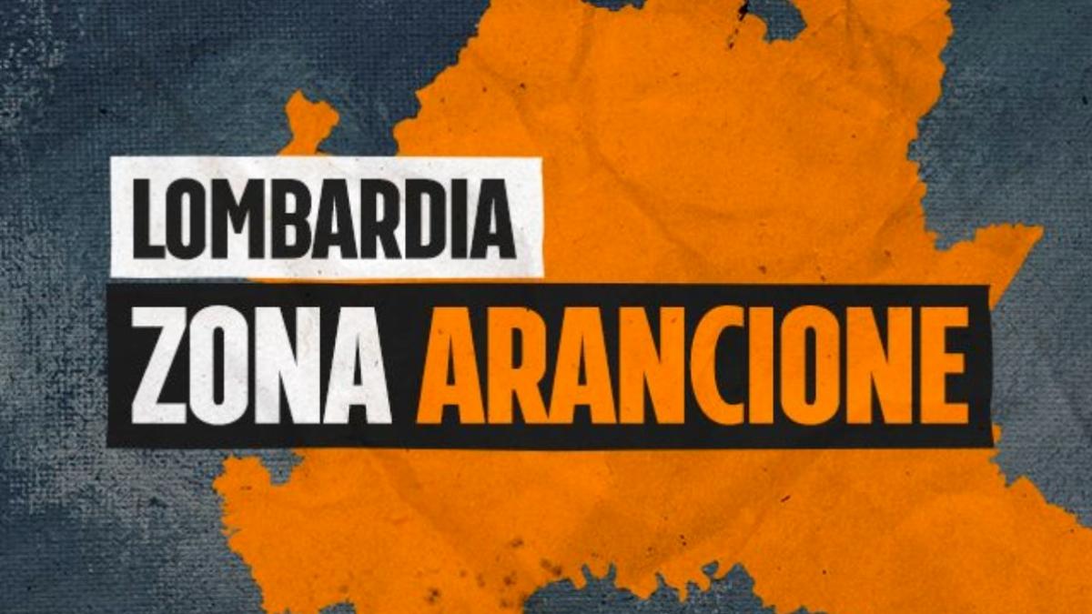 Covid, la Lombardia diventa arancione con 3203 nuovi casi e 135 morti nelle ultime 24 ore