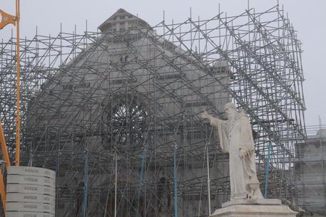 Norcia, conclusi i lavori di messa in sicurezza della Basilica di San Benedetto