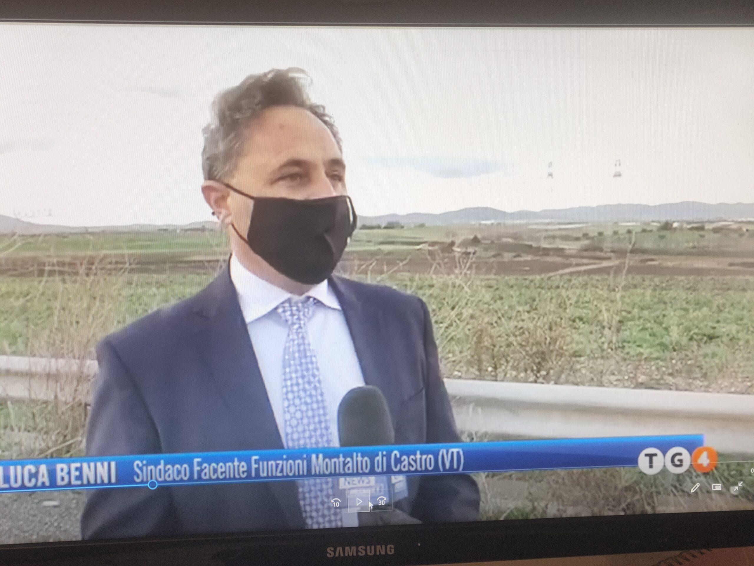 """Viterbo, scorie radioattive, il sindaco FF di Montalto di Castro Benni: """"Propongo al governo un tavolo tecnico ambientale permanente"""""""