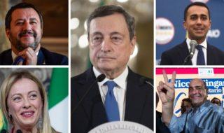 Sondaggi politici, Lega primo partito con il 24, 5, cdx al 50, , csx al 47, 1