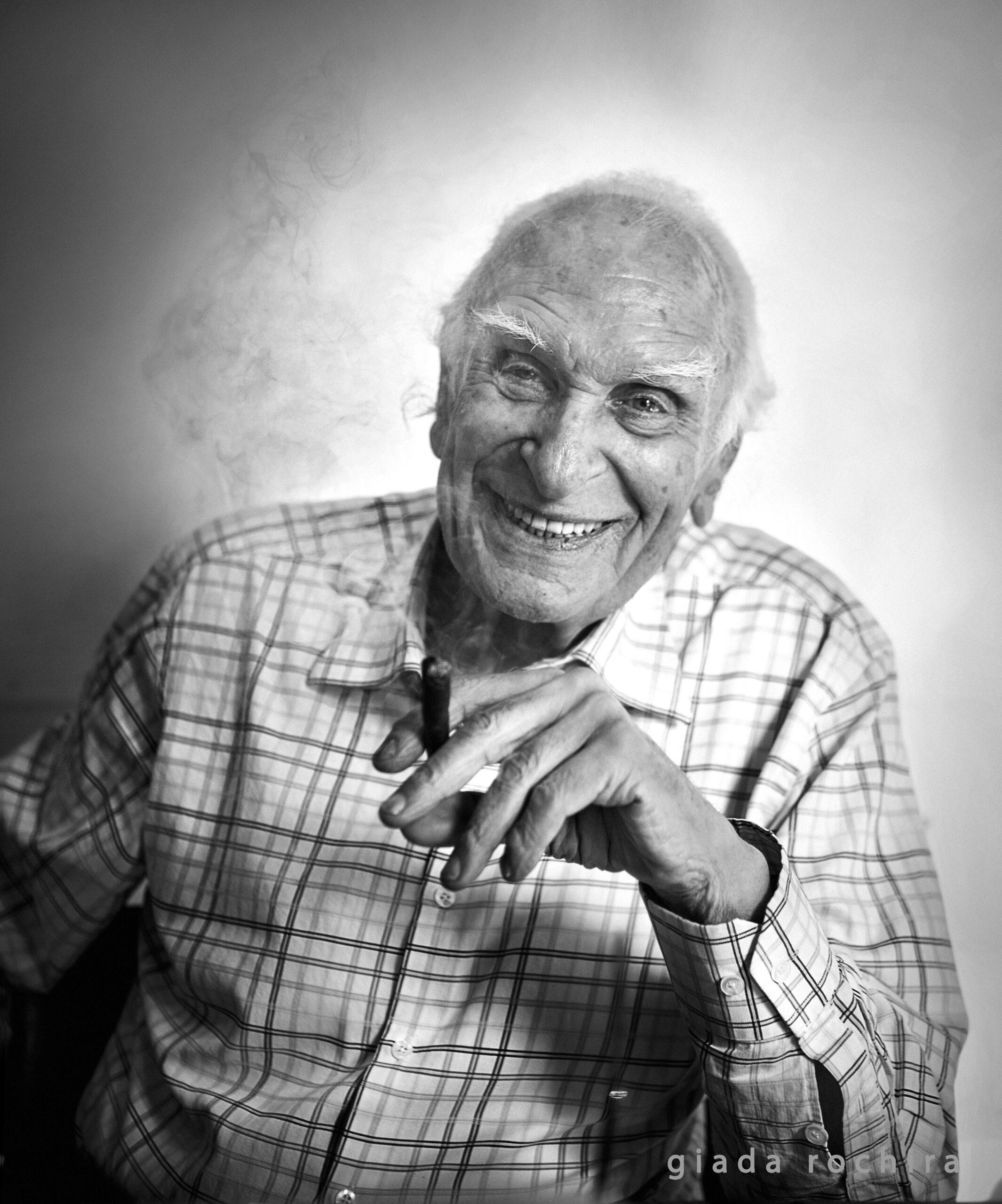 """""""Genesi di un'immagine"""", di Giada Rochira: Marco Pannella ed il fumo in fotografia"""