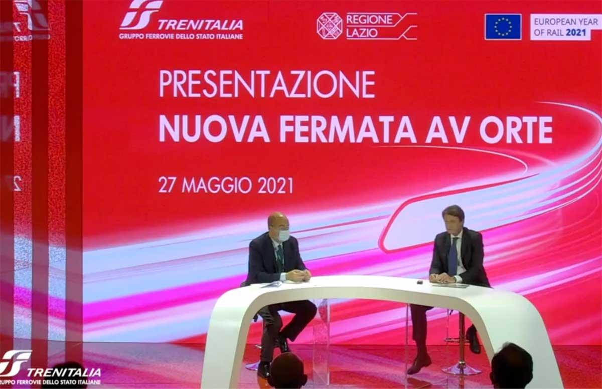 Freccia Rossa ad Orte, contro l'isolamento di Alto Lazio ed Umbria