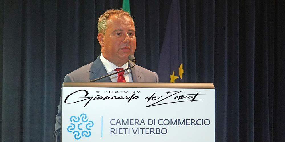 Viterbo, insediato  ilConsiglio della nuova Camera di Commercio Rieti-Viterbo,Merlani Presidente