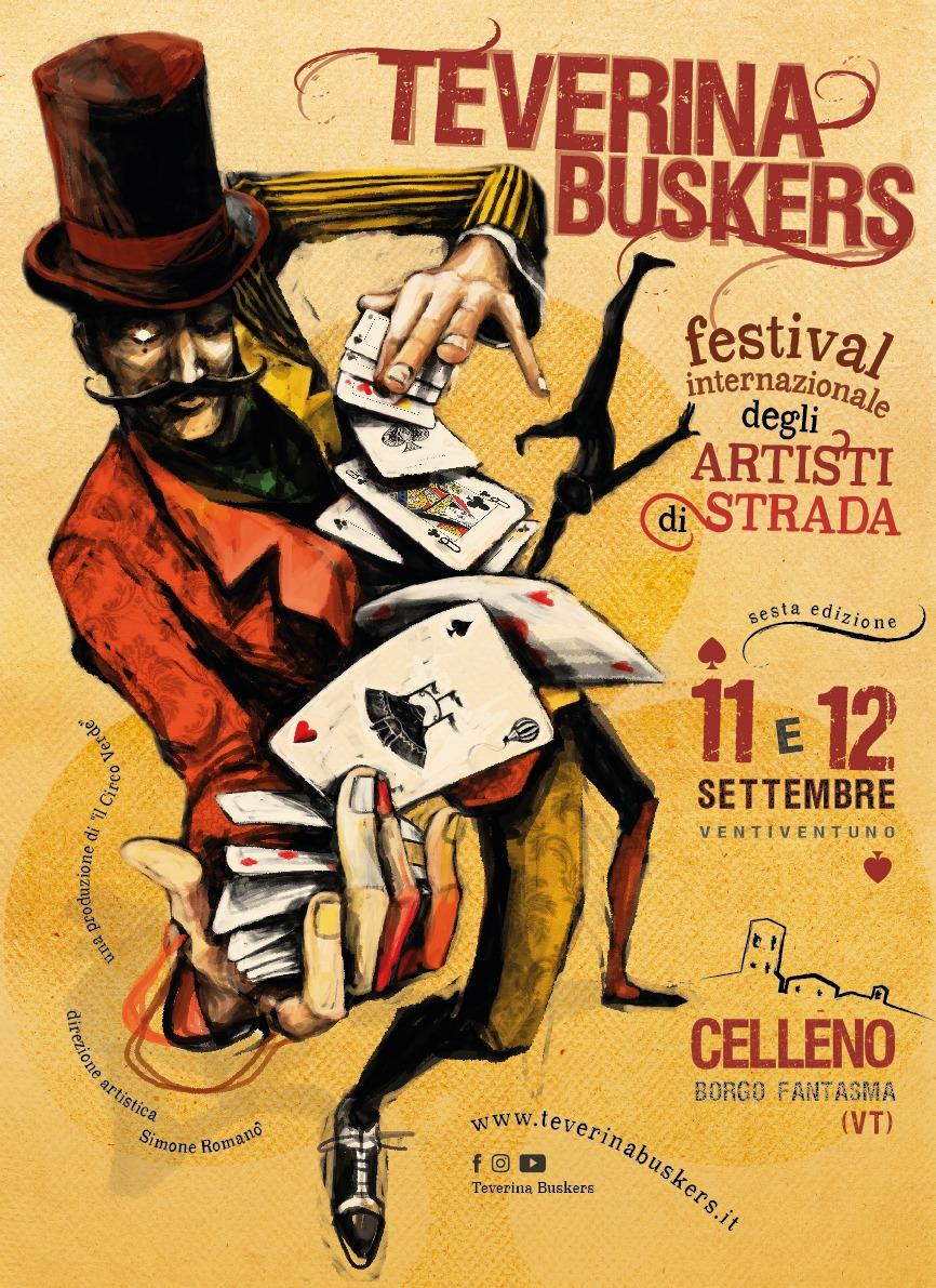 Celleno, l'11 ed il 12 settembre la sesta edizione del Festival Internazionale Artisti di Strada