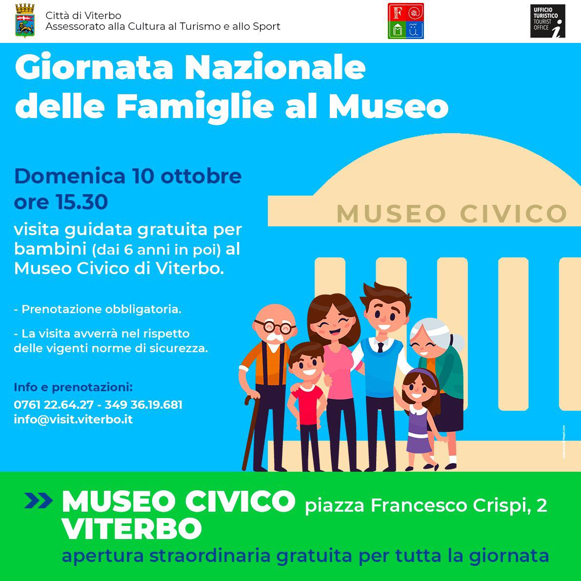 Viterbo, Arte, domenica 10 ottobre ingresso libero al museo civico Luigi Rossi Danielli