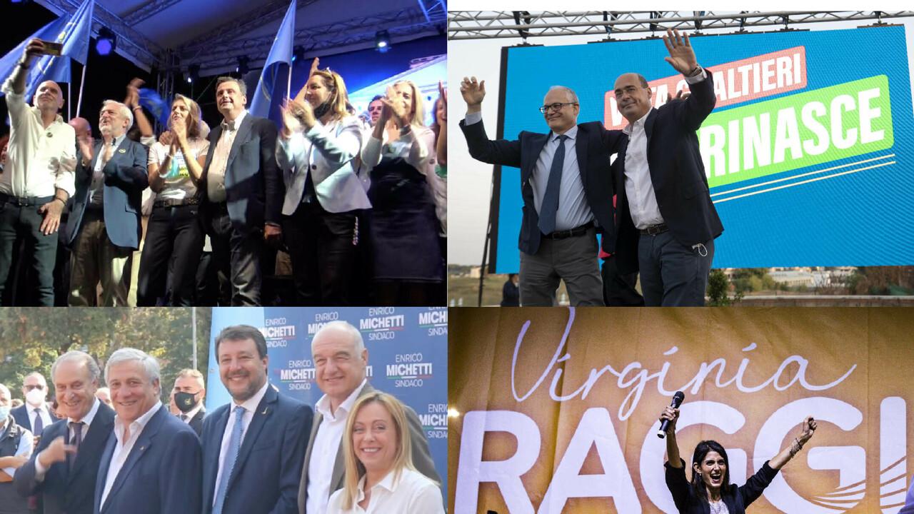 Elezioni Roma, è silenzio elettorale: così i quattro candidati favoriti hanno chiuso le loro campagne